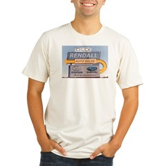 rendall3245 Organic Men's Fitted T-Shirt