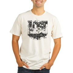 Island LOST Vintage Organic Men's Fitted T-Shirt