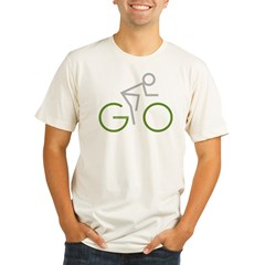 2-GO Organic Men's Fitted T-Shirt