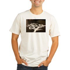 Three Crosses Organic Men's Fitted T-Shirt