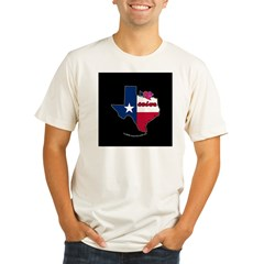 ILY Texas Organic Men's Fitted T-Shirt