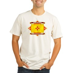 2-New Mexico diamond Organic Men's Fitted T-Shirt