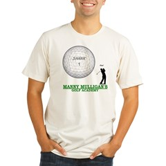 MANNY MULLIGAN'S GOLF ACADEMY Organic Men's Fitted T-Shirt