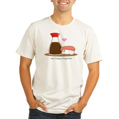 Soyhappytogether Organic Men's Fitted T-Shirt