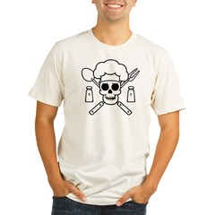 chef-pirate-T Organic Men's Fitted T-Shirt