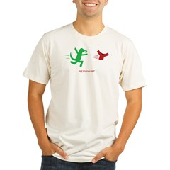 redshirt_bk Organic Men's Fitted T-Shirt