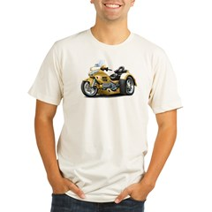 Goldwing Gold Trike Organic Men's Fitted T-Shirt