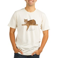 Orange Cat Ginger Kitty Organic Men's Fitted T-Shirt