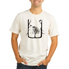 Monroe Disc Golf Organic Men's Fitted T-Shirt