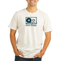 neverforget Organic Men's Fitted T-Shirt