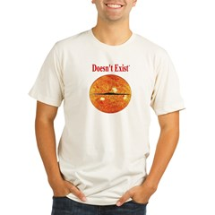 Doesn't Exist Organic Men's Fitted T-Shirt