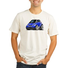Smart Blue Car Organic Men's Fitted T-Shirt
