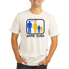Game Over Marriage Married Ba Organic Men's Fitted T-Shirt