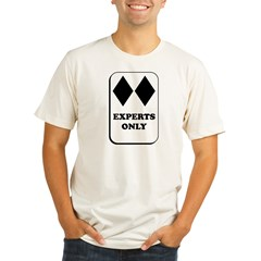 Experts Only Organic Men's Fitted T-Shirt