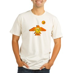 Anishinaabe tribal symbol Organic Men's Fitted T-Shirt