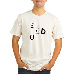 Sex Bob-omb Dark Shirt Organic Men's Fitted T-Shirt
