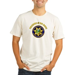 DA Dave seal (outlined).JPG Organic Men's Fitted T-Shirt