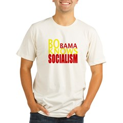 Barack Obama Knows Socialism Organic Men's Fitted T-Shirt