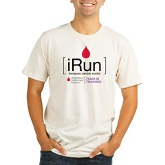 irun Organic Men's Fitted T-Shirt