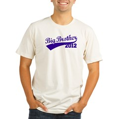 Big Brother 2012 Organic Men's Fitted T-Shirt