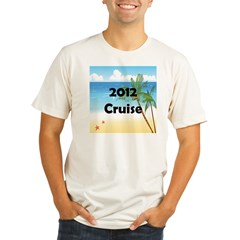 Cruise 2012 Organic Men's Fitted T-Shirt