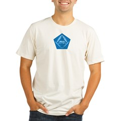 KOTN Traditional Logo Organic Men's Fitted T-Shirt
