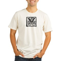 iaiaprintgritty Organic Men's Fitted T-Shirt