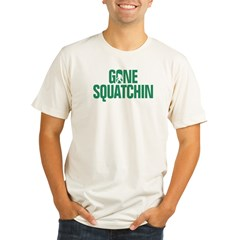Gone Squatchin' Organic Men's Fitted T-Shirt