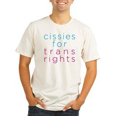 Cissies for Trans Rights Organic Men's Fitted T-Shirt