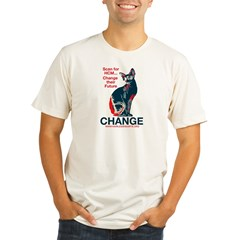 CHANGE - HCM Awareness Organic Men's Fitted T-Shirt