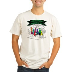 Lab Tech Team Humor Organic Men's Fitted T-Shirt