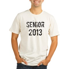 Grunge Senior 2013 Organic Men's Fitted T-Shirt