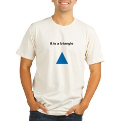 Its a Triangle Organic Men's Fitted T-Shirt