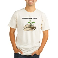scienceisawesome1 Organic Men's Fitted T-Shirt