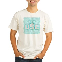 SOS10 - 'It's No Use' Fitted Organic Men's Fitted T-Shirt