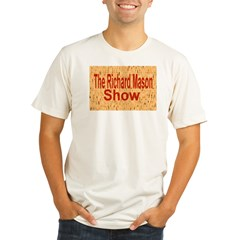 Richard Mason Show Logo Organic Men's Fitted T-Shirt