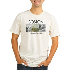 ABH Boston Organic Men's Fitted T-Shirt