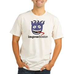 ImprovBoston Organic Men's Fitted T-Shirt