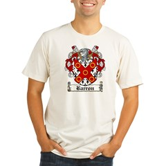 Barron Coat of Arms Organic Men's Fitted T-Shirt