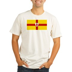 Ulster Flag Organic Men's Fitted T-Shirt