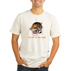 Eye of the tiger Organic Men's Fitted T-Shirt