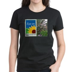Eye on Gardening Tropical Plants Women's Dark T-Shirt