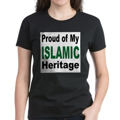 Proud Islamic Heritage Women's Dark T-Shirt