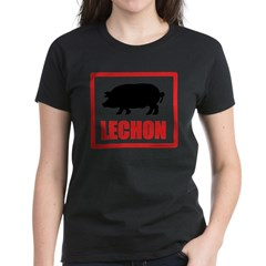 Lechon Women's Dark T-Shirt