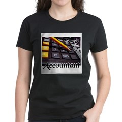 ACCOUNTAN Women's Dark T-Shirt