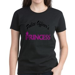 Police Officer's Princess Women's Dark T-Shirt