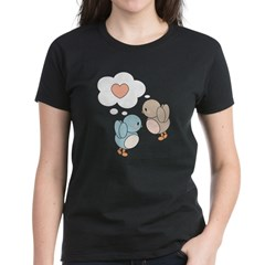 Love Birds Women's Dark T-Shirt