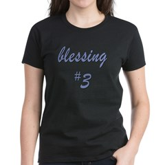 Blessing #3 Women's Dark T-Shirt