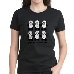 Panda-monium Women's Dark T-Shirt