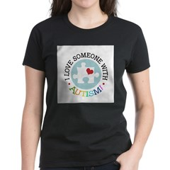Autism Puzzle - Women's Dark T-Shirt